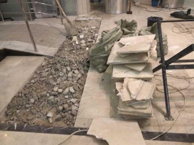 ремонт природного камня