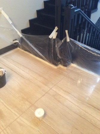 Как полируют мрамор